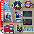 Style Funny StickersUSD Danger Sign UK US Flag London Subway Bus Rock n Roll Kim