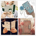 New Wallet Flip PU Leather Chain Phone Case Cover For iPhone Samsung Galaxy