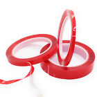 2 Rolls of 3 Meter Very High Bond VHB Double Sided Acrylic Clear Red Liner Tape