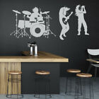 Rock Band Drum Kit Music Wall Sticker Ws-18279