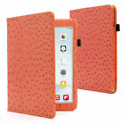 OSTRICH PATTERN LUXURY PU LEATHER CASE COVER FOR IPAD MINI / IPAD AIR (all gen.)