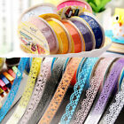 Decorative Tape Lace Sticker Stationary Scrapbook Ideas Self Adhesive For Gift