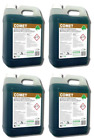Fresh Floral Aroma Carpet Shampoo Fluid Extraction Detergent Concentrate. 4x5ltr