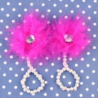 Newborn Baby Foot Flower Feather Pearl Barefoot Toddler Beach Sandals Shoes HQ