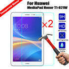 2Pcs Premium Genuine Tempered Glass Film Screen Protector For Huawei Pad/Tablet