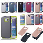 Shockproof Heavy Duty Hybrid Rubber Phone Protect Case Cover For iPhone Samsung