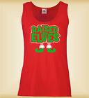 RAISED BY ELVES FUNNY CHRISTMAS TOP MUJER CHALECO LADIES SLIM VEST