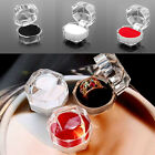 5/10Pcs Jewelry Ring Earring Gift Storage Box Transparent Acrylic Organizer Case