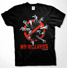 The Walking Dead No Walkers T-shirt Zombie apocalypse Men Shirts S-2XL