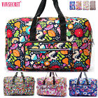 Women Large Capacity Foldable Travel Luggage Carry on Tote Duffle bag Weekender