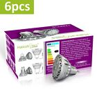 Hakkatronics 6x 5w MR16 LED Spotlights Warm Cool White Bulb 450Lm 35w Halogen