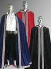 Medieval Renaissance Royal Style Cape Cloak for King or Knight Handmade