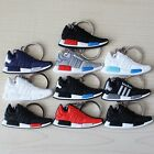 AD01 Boost Style Silicone Keychain Sneaker SOPORT basketball shoes Keychain NMD