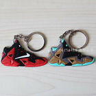 2016 James 11 Boost Style SHOES Silicone Keychain Sneaker Key Chain Keys