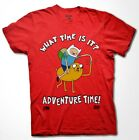 Adventure Time punch T-shirt Jake Finn cartoon Fan Men Shirt S-3XL