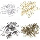 100-500pcs Open Jump Rings Connectors Beads For Jewelry Diy 4/5/6/7/8/9/10/12mm