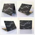 "Black Marble #12 White Lines Hard Case Cover for MacBook 12"" Air Pro 11"" 13"" 15"""