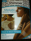 HOT JEWELS ~4 SHEETS OF TEMPORARY JEWELREY TATOOS FUN STOCKING STUFFER