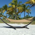 Double Caribbean Hammock - 48 inch - Soft-Spun Polyester *Stand not included*