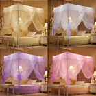 Lace Encryption Bedding Canopy Netting Princess Mosquito Net Full Queen King  image