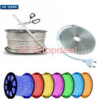 1/2/5/10M 5050 60 SMD Waterproof IP67 Flexible LED Light Strip Lamp 220V XMAS