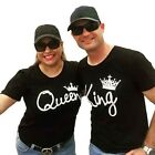 Couple T-Shirt King and Queen - Love Matching Shirts - Couple Tee Tops Hot