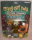 Crazy Cat Lady action figure MINT on the card 6 cats