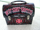 JESSE JAMES WEST COAST CHOPPERS COLLECTIBLE METAL TIN LUNCH BOX