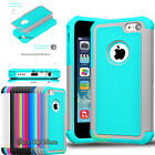 Shockproof Rugger Rubber Impact Defender Hard Case Cover For Apple iPhone 5C 5c