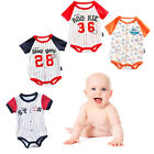 Newborn Kids Baby Boy Girl Infant Cotton Romper Jumpsuit Bodysuit Outfit S-2XL