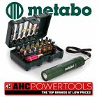 Metabo Bit Box 29 Pieces c/w Mini LED Torch - 626721000