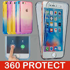 360° Shockproof Silicone Protective Clear Soft Case Cover For iPhone 5/5S 6 6S
