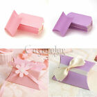 50 Pillow favor Box Anti-Scratch Boxes Wedding Party Candy Boxes Hot Sale