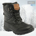 Regatta Men's Stormfell Waterproof Walking Hiking Winter Boots - Black