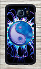 YIN AND YANG ELECTRIC BLUE CASE FOR SAMSUNG GALAXY S6 -kmr4Z