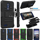 Shockproof Belt Clip Holster Stand Case Cover for ZTE Grand X Max 2/ Max Duo LTE