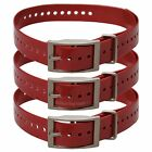 Replacement Strap for Garmin DC50 TT10 TT15 T5 GPS Dog Tracking Collar Red