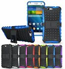 Huawei Ascend G7 Heavy Duty Hybrid Shockproof Kickstand Hard Case Cover