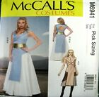McCalls Sewing Pattern 6941 Game Thrones Medieval History Goth Costume Pick Size