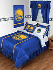 Golden State Warriors Comforter Sham & Valance Set Twin Full Queen King Size