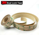 3M™ Dual Lock™ Clear Sticky Tape Fastener SJ4570 Self Adhesive Pads Low Profile