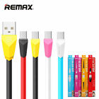 Remax USB Charging Data Sync Cable For iphone 6s 7 plus Samsung S7 G935A Android