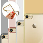For iPhone 7/7plus Ultra-thin TPU Rubber Bumper Protective Skin Clear Case Cover