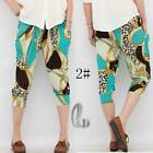 AU SELLER Womens Soft Casual Hippie Short Baggy Harem Yoga Beach pants P030-2