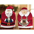 Christmas Chair Cover Party Gift Decor Dinner Dining Decorations Santa Claus