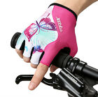 Riding Bicyle Cycling Gloves Half Finger Anti-slip Shock-absorbing Breathable