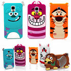 Cute 3D Cartoon Silicone Case Cover for Samsung Galaxy S8 Plus S4 S5 Note 2 3 4
