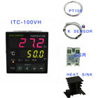 ITC-100VH PID Digital Temperature Controller Thermostat 240V control heating fan