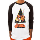 A Clockwork Orange-color stanley Baseball Jersey t-shirt 3/4 sleeve Raglan Tee