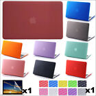 "3in1 Anti-Dust Matte Case (no cut) Protective Skin for MacBook White 13"" A1342"